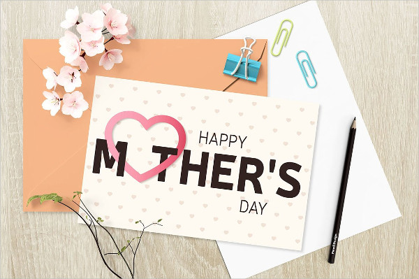 Happy Mother's Day Greeting Cards Vector Illustration