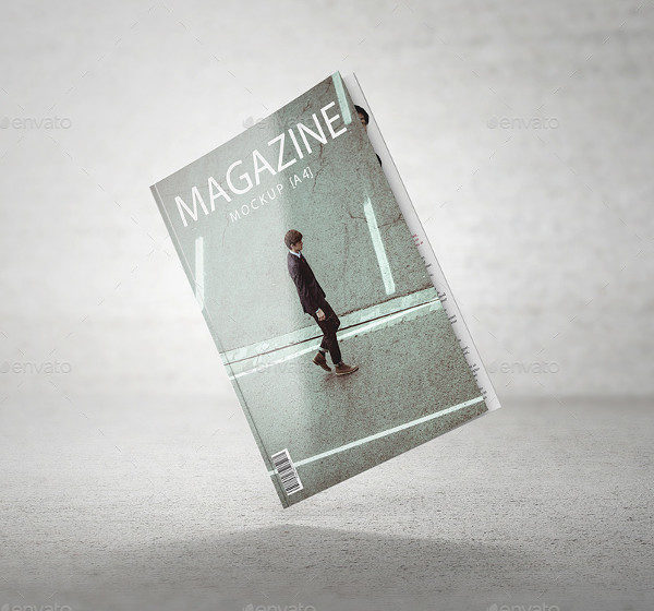 Multipurpose A4 Magazine Mock-up