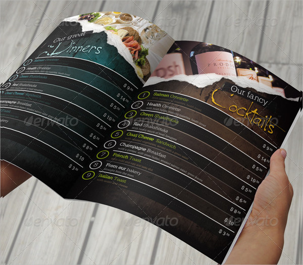 Multipurpose Restaurant Menu Template