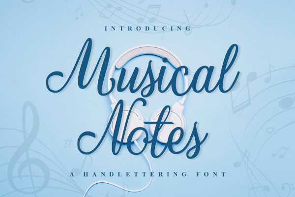 Musical Note Fonts