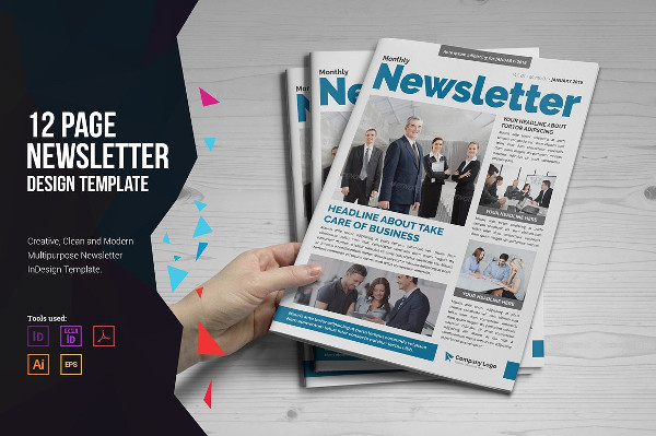 Eco Newsletter Design Template