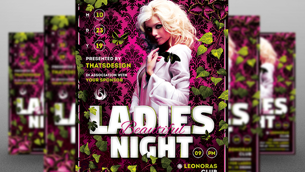 33+ Night Party Flyers