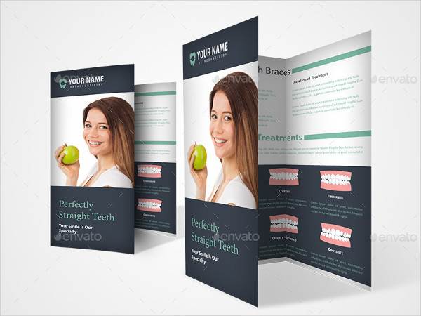 Orthodontist or Dental Brochure Template