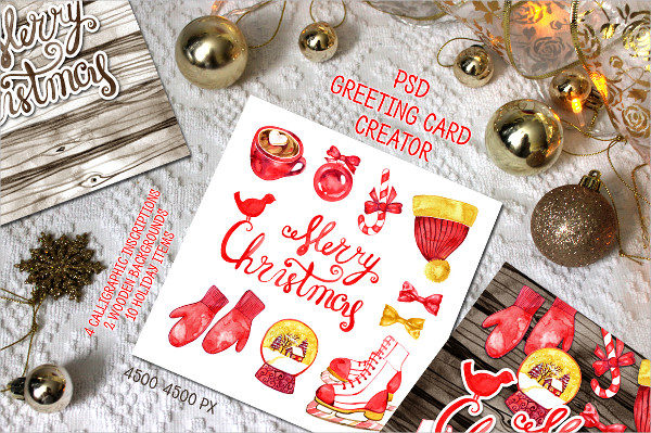 PSD Greeting Cards Creator