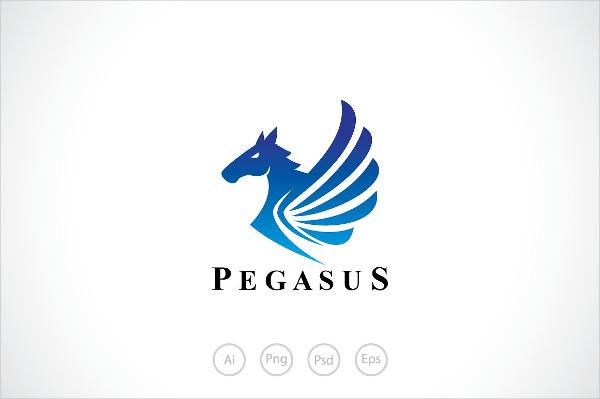 Pegasus Wings Logo Template