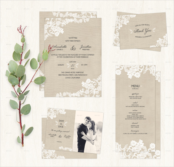 Perfect Wedding Invitation Stationery