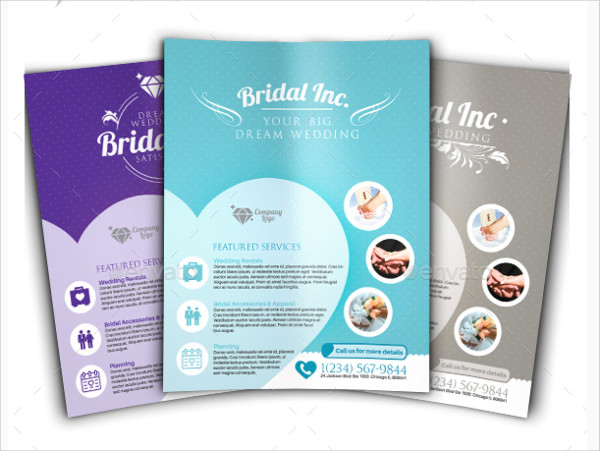 Perfect Wedding Planner Flyer Template