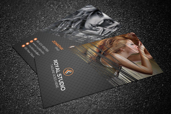 Fashion Photography Business Card
