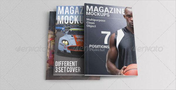 Professional Magazine Mockup