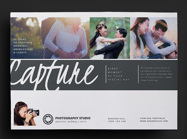 Wedding Photography Design Flyer