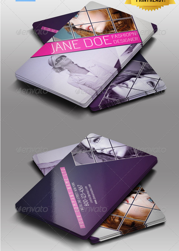 Professional Business Card for Fashion Business