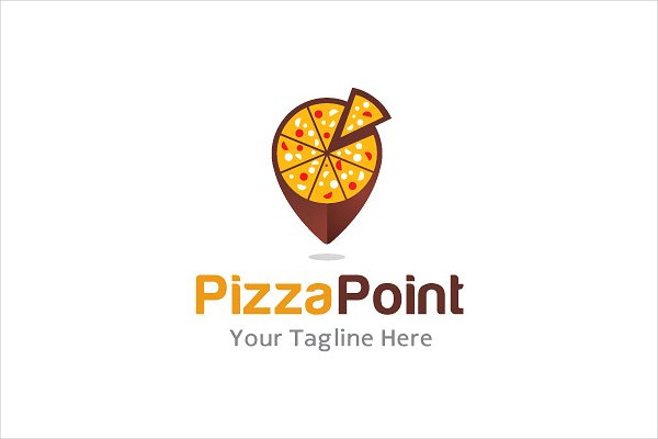 Pizza Point Logo Template