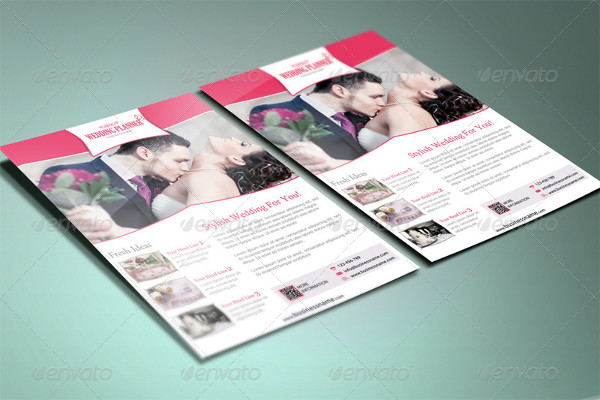 Popular Wedding Planner Flyer Template