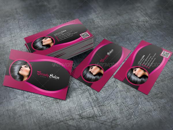 Print Ready Beauty Salon Business Cards