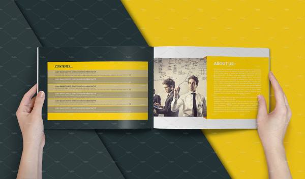 Print Ready Landscape Business Brochure