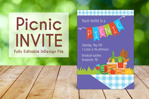 Printable Business Lunch Invitation Template