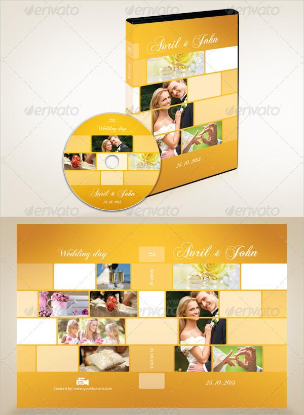 Printable Wedding DVD Covers Bundle