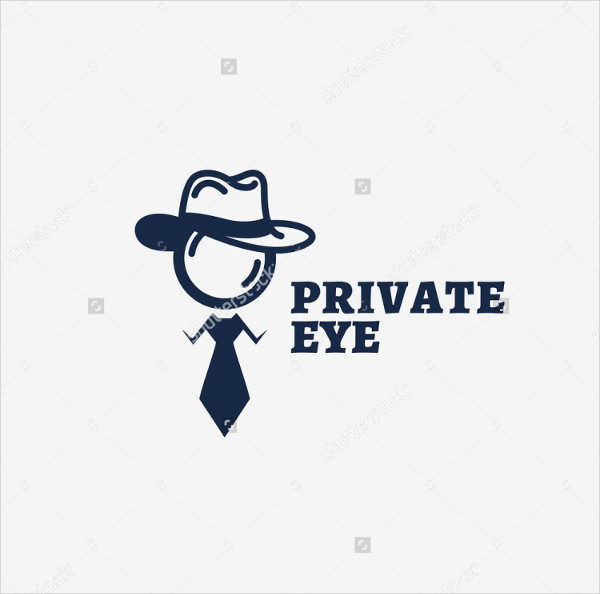 Private Eye Logo Template Design