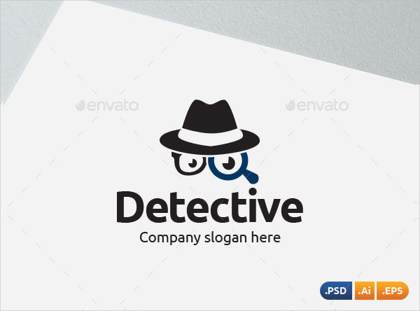 Private Detective Logo Template