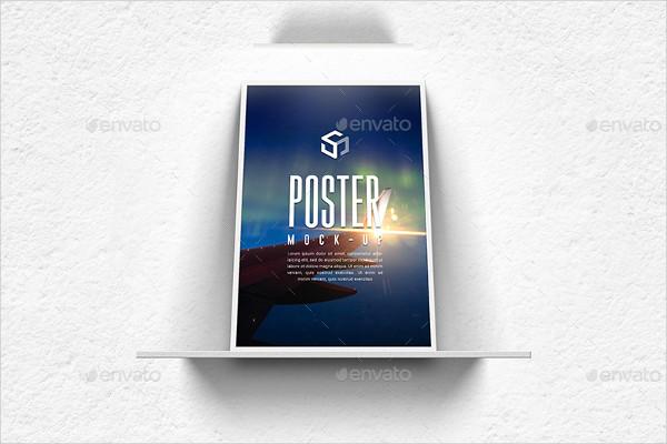 Professional Frame Poster Mockup