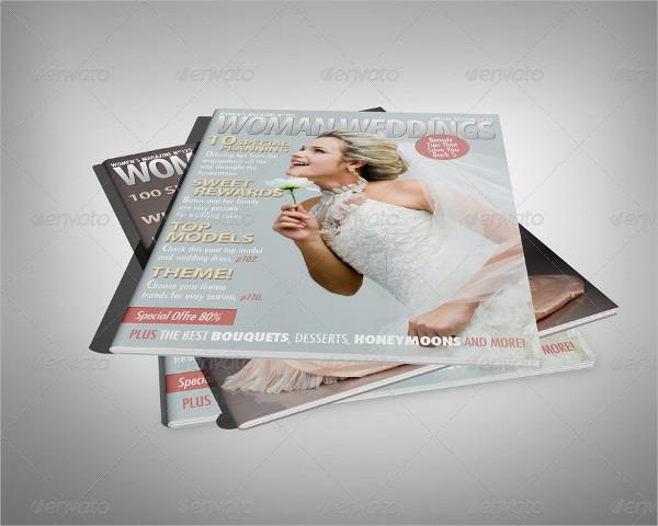 Professional Magazine Display Mock-Up