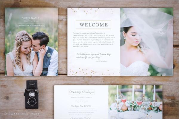 Professionally Designed Wedding Magazine Template
