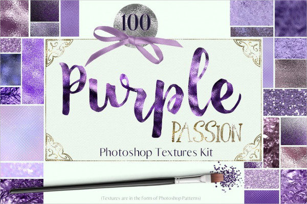 Purple Passion Photoshop Patterns