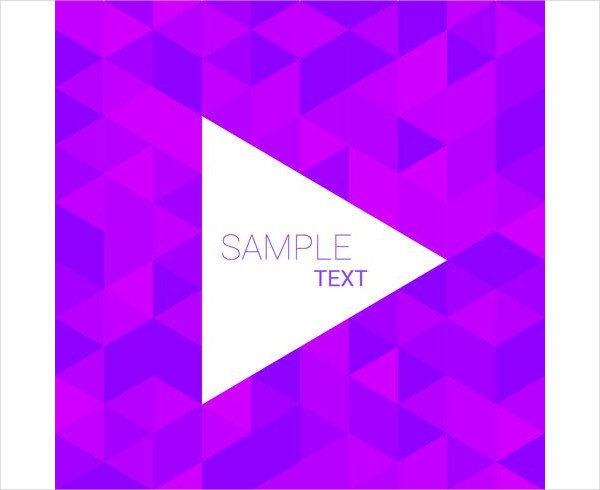 Purple Triangle Pattern Background Free Download