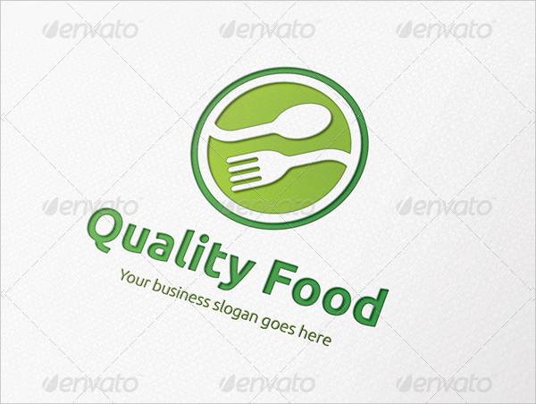 Quality Food Logo Template