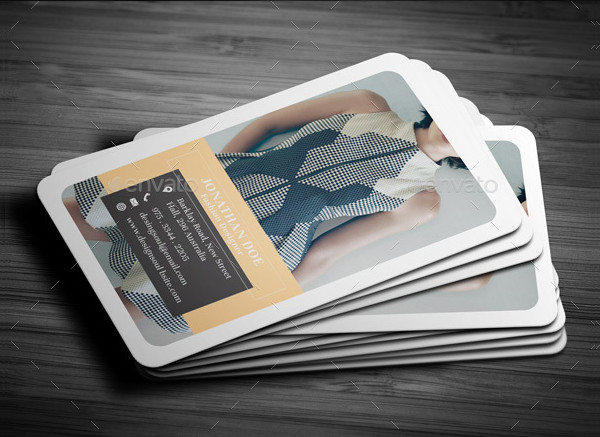 Ready to Print Fashion Business Card