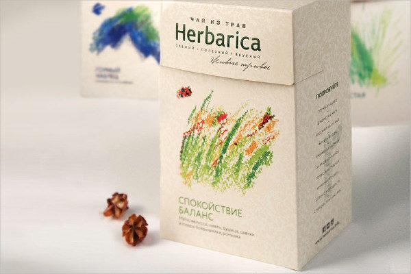 Rebranding Tea Packaging Template