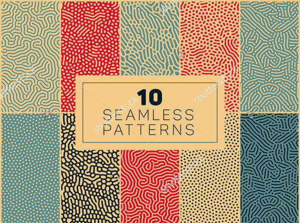 10 Seamless Biological Patterns