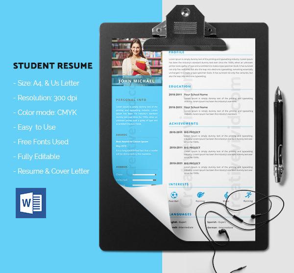 Corporate Student Resume