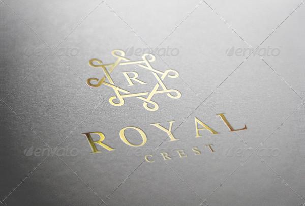 Royal Crest Logo Template