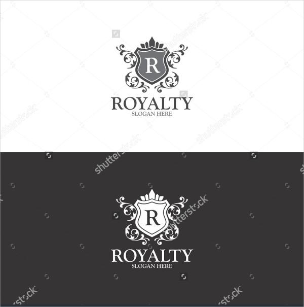 Clean Royalty Vector logo Template