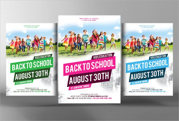 Popular School Party Flyer Template