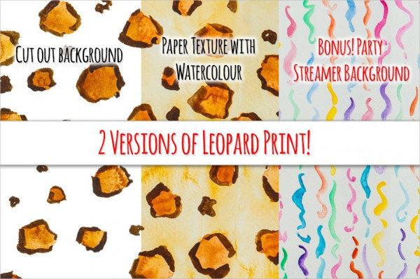 Seamless Watercolor Photoshop Pattern Bundle