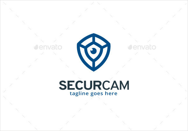 Security Camera Logo Template