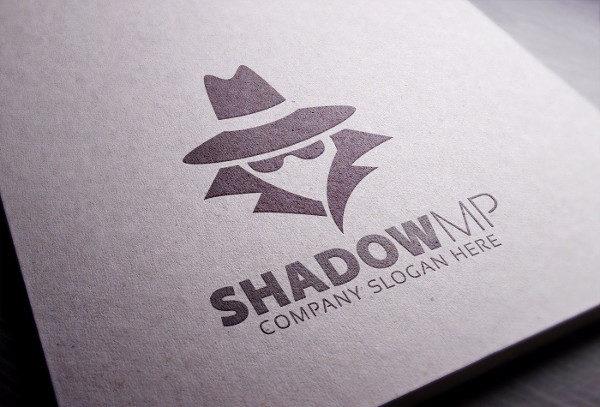 Detective Shadow Logo Template
