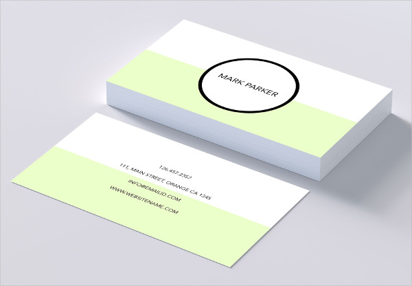 Simple Elegant Business Cards Template