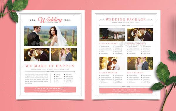 Simple Wedding Planner Studio Flyer