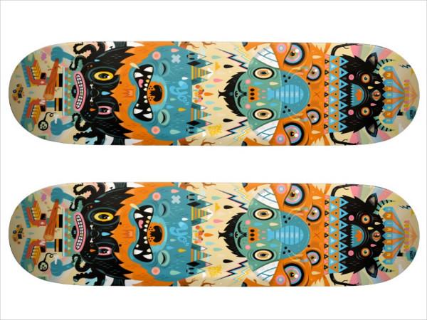 Skateboard Circus Design