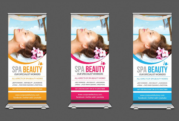 Spa & Beauty Salon Banners