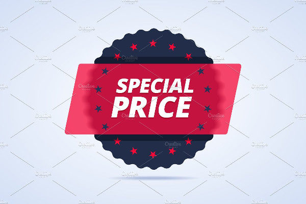 Special Price Label Template