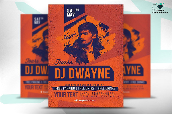 Spectacular DJ Flyer Template