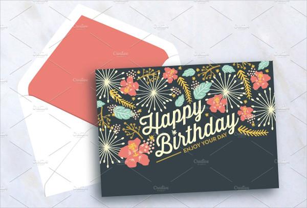Sweet Happy Birthday Card