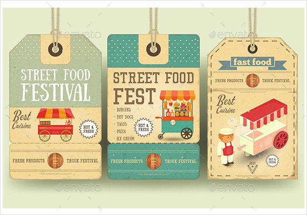 Street Food Festival Price Tags