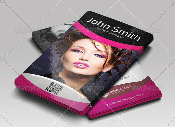 Fashion Business Card with Clean Design
