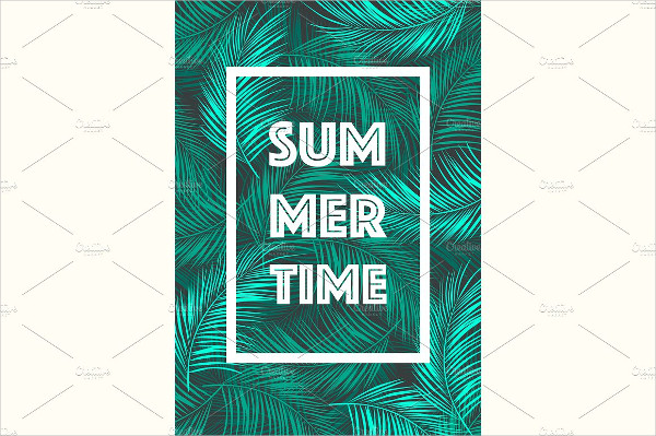 Summer Time Poster Template