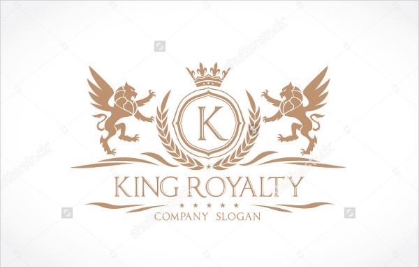 Royalty Real Estate Logo Template